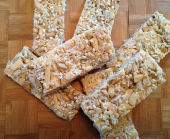 Sweet and Nutty Bars