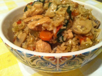 Recipe - Chicken Fried Rice