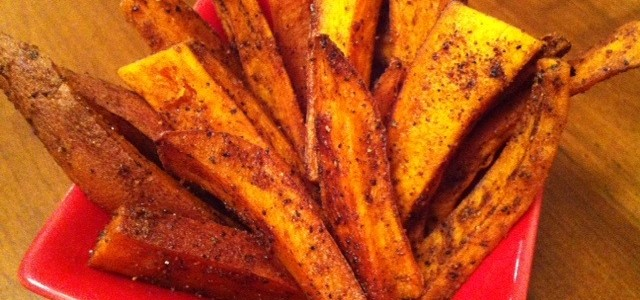 Recipe – Oven Baked Yam Fries