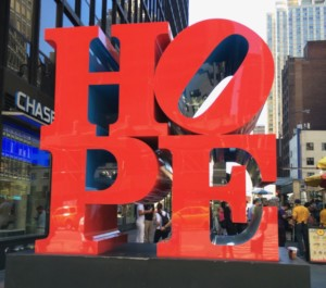 HOPE in NYC
