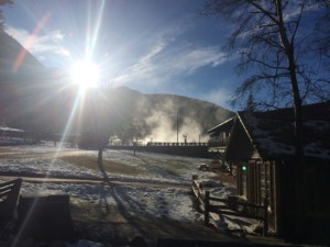'Morning Glory' at Fairmont Hot Springs. Photo by Ian Whitehead