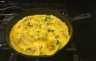 Easy Frittata - The Kitchen Queen